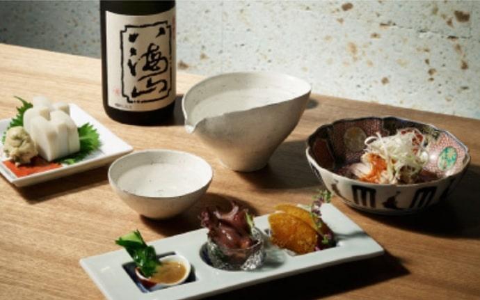 八海山 千年こうじやの料理