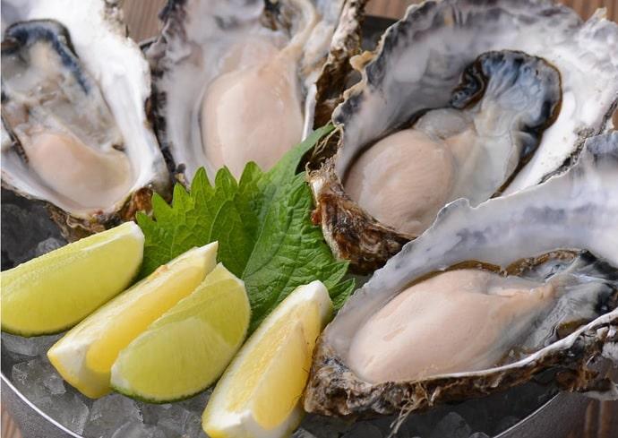 牡蠣場 北海道厚岸の牡蠣プレート