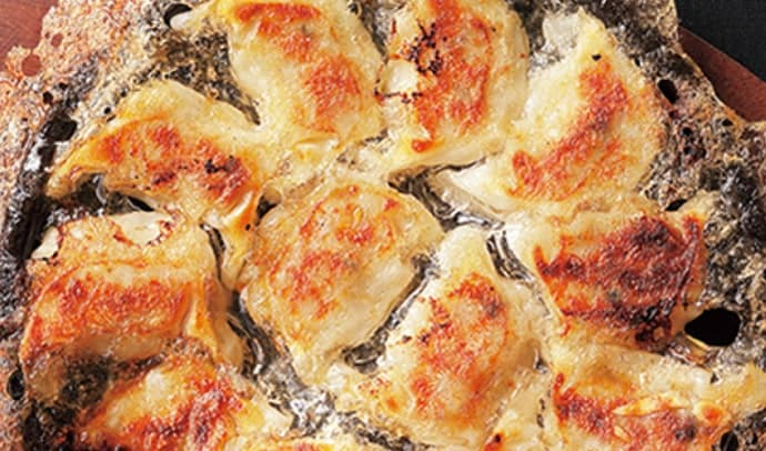 博多もつ鍋 やまやの博多鉄なべ餃子