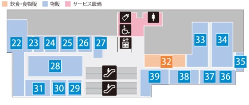 コレド日本橋の3階マップ