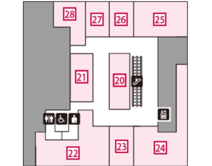 コレド室町1の3階フロアマップ