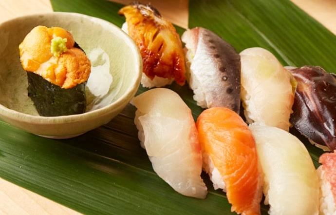 日本橋 すし 釣りきんの寿司
