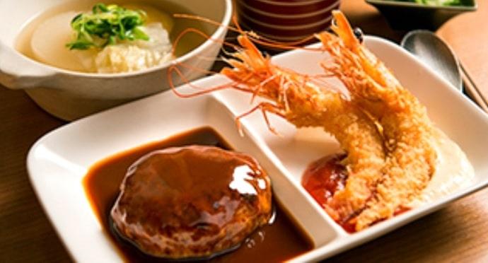 京洋食 あかつきの料理