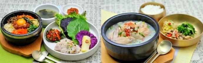 渋谷 水刺齋の料理