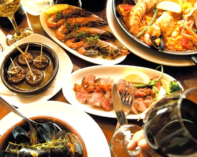 Bar Espanol LA BODEGAの料理