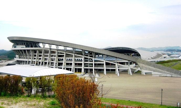 宮城スタジアムの外観