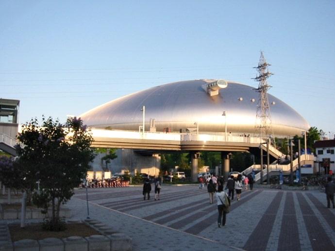 札幌ドームの外観