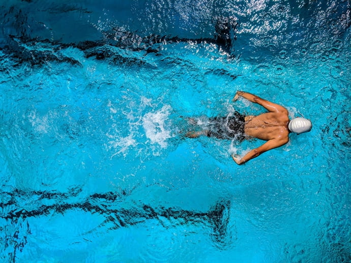 オリンピック競技イメージ(水泳)