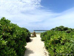 瀬長島の海