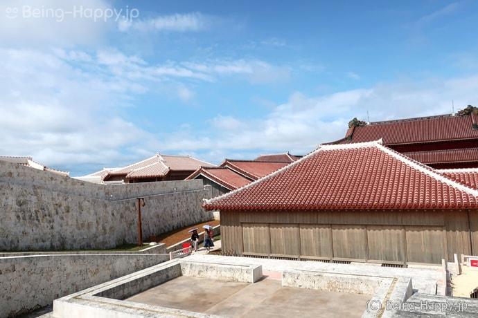 復元後の首里城