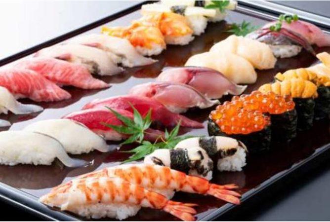 キュープラザ池袋 寿司・和⾷ 築地⽇本海