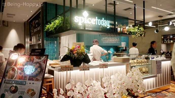 spice today コレド室町テラス店の外観