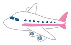 海外旅行のイメージ(飛行機)
