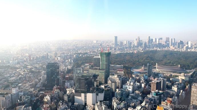 渋谷スカイ お昼の景色