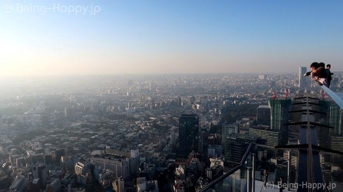 渋谷スカイー空にに浮いているような感覚になる空間