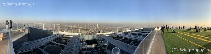 渋谷スカイ 360度の視界