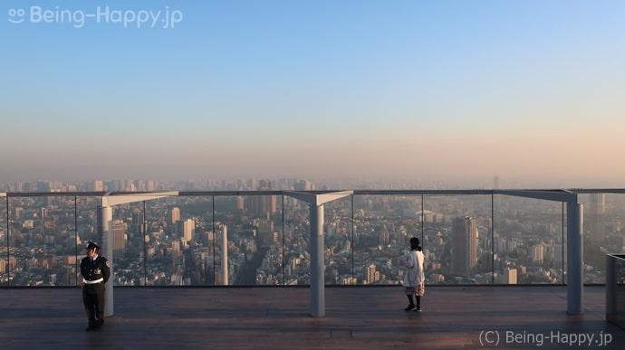 渋谷スカイ 屋上展望台