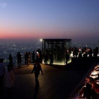 渋谷スカイ展望台からの夜景