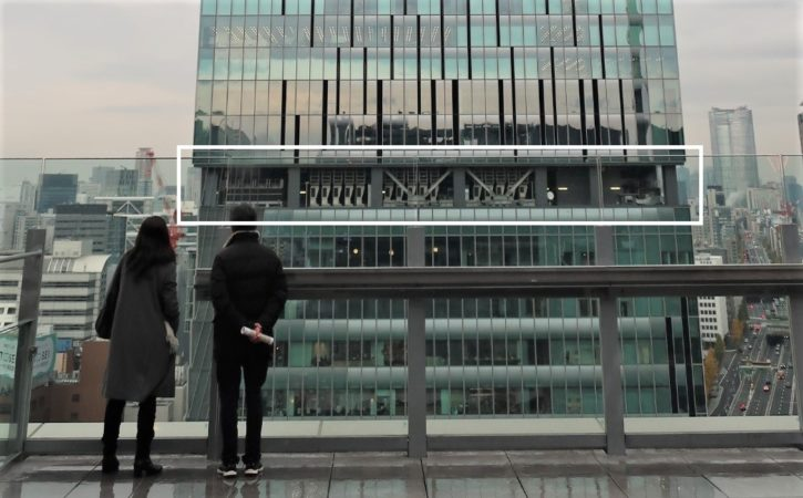 スクランブルスクエア 15階