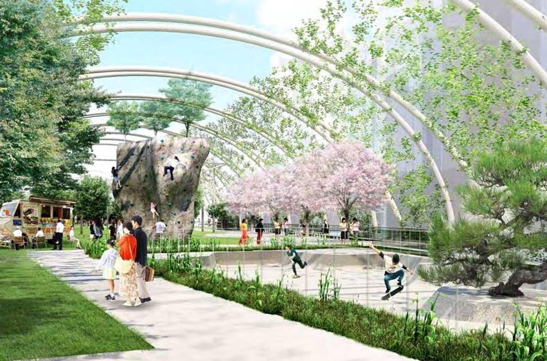 新宮下公園 イメージ図