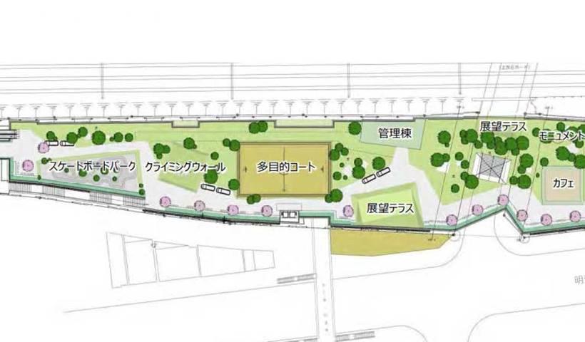 新宮下公園グリーン&スポーツゾーン