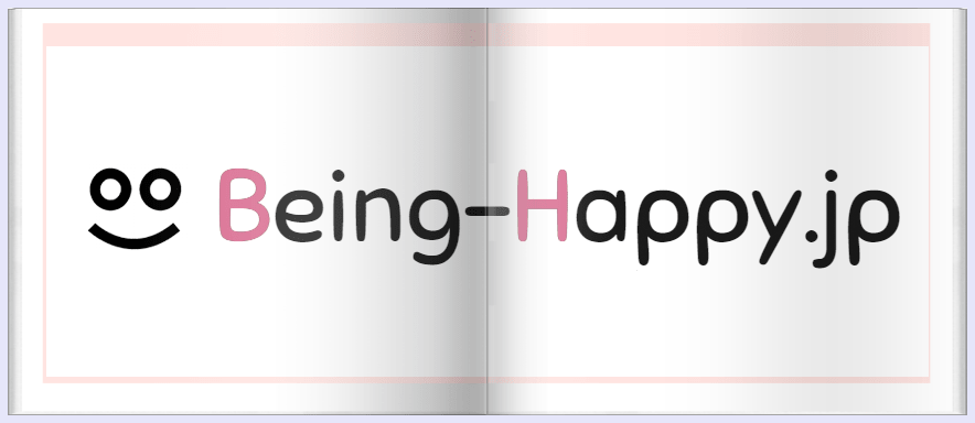 Being-Happy.jpのロゴ