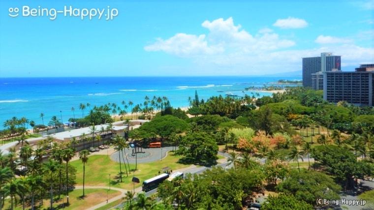 南の島、ハワイ
