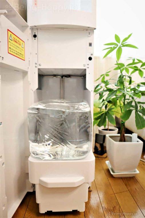 スラット水の交換